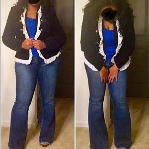 Forever 21 high waisted flare jeans